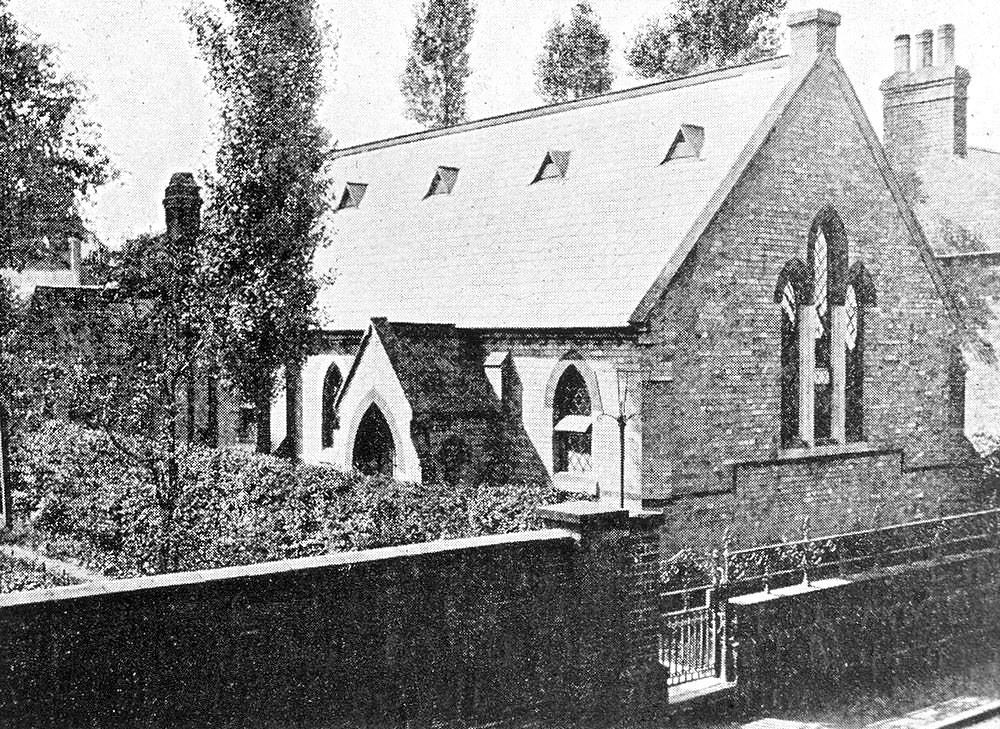 Horncastle. Queen Street. New Jerusalem Church