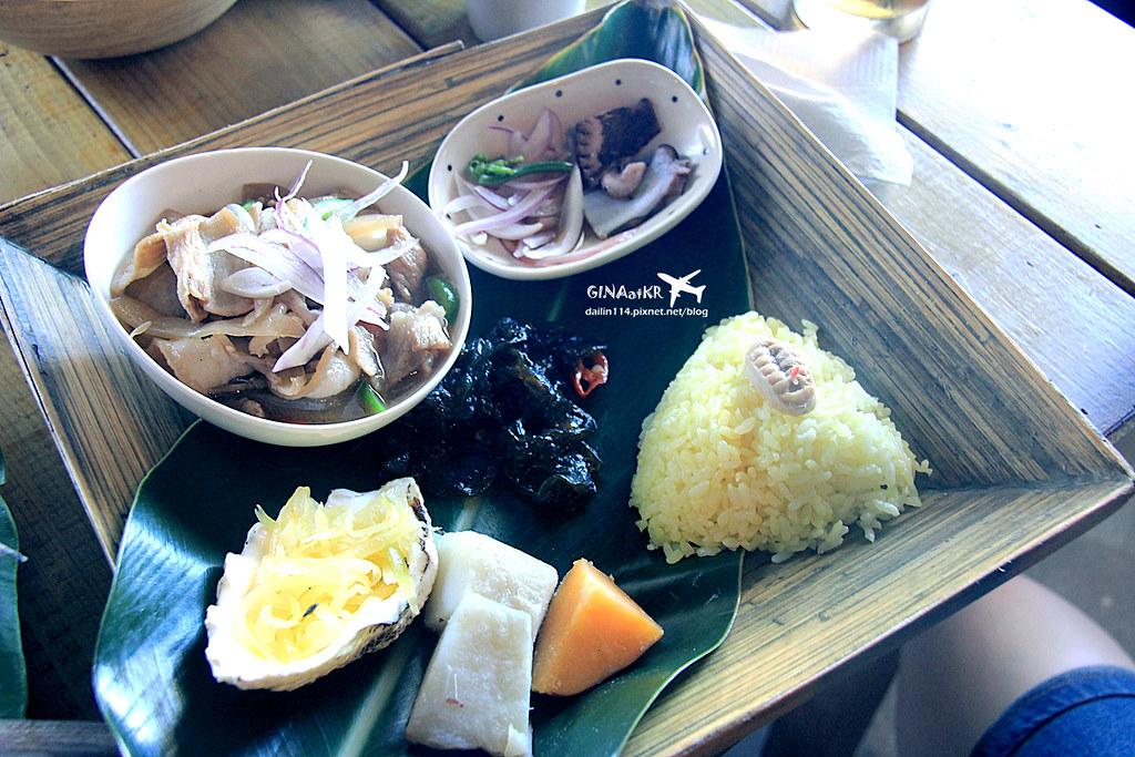 【蘭嶼食記】漁人部落|特色餐廳-無餓不坐|飛魚餐 + 山豬肉套餐 @GINA環球旅行生活|不會韓文也可以去韓國 🇹🇼