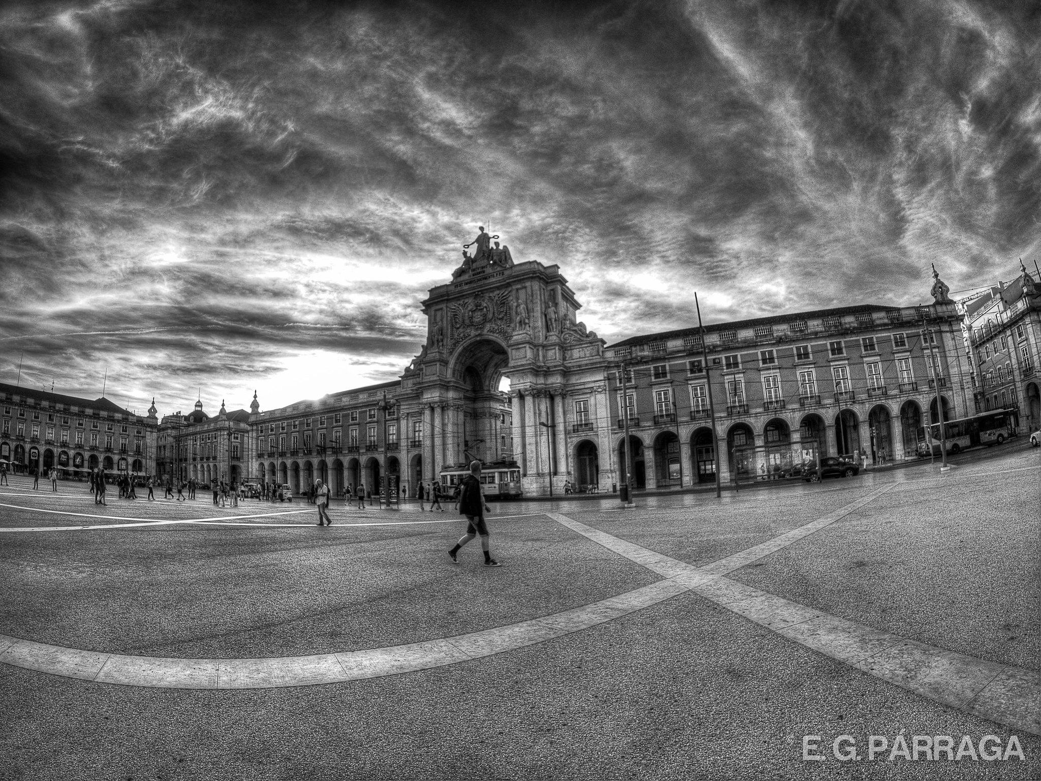 Plaza del Comercio HDR
