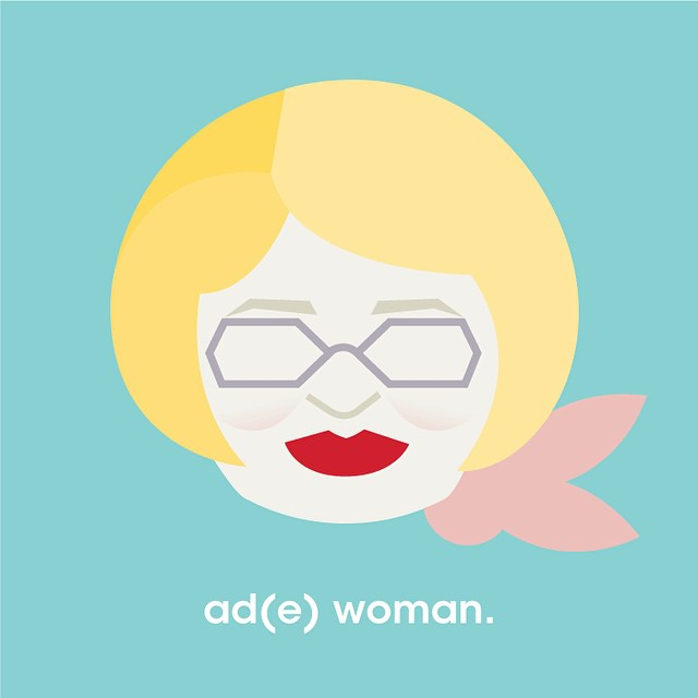 Thank you, Ade, for 14 years of excellence. #adwoman #tigposterseries