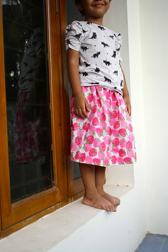 SEW-Strawberry Skirt