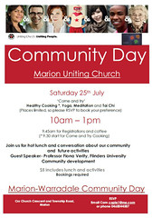 Marion-Warradale Community Day 2015 Poster