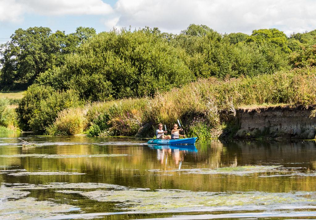 Canoeists
