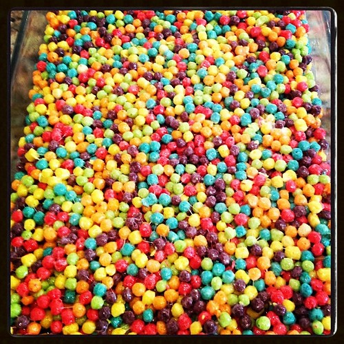 Colorful balls of madness #tiedyeparty