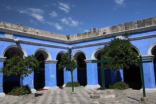 Santa Catalina Monastery, Arequipa, Peru