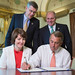Speaker John Boehner signs The Steve Gleason Act, which will help patients afflicted by ALS by making it easier to access speech-generating devices. by SpeakerBoehner