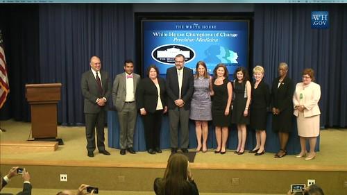 White House Champions of Change - Precision Medicine #WHChamps