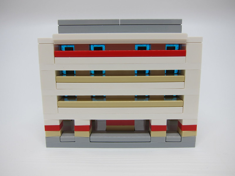 LEGO SG50 Limited Edition Singapore Icons Mini Build - HDB Flat - 1