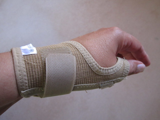 new wrist splint