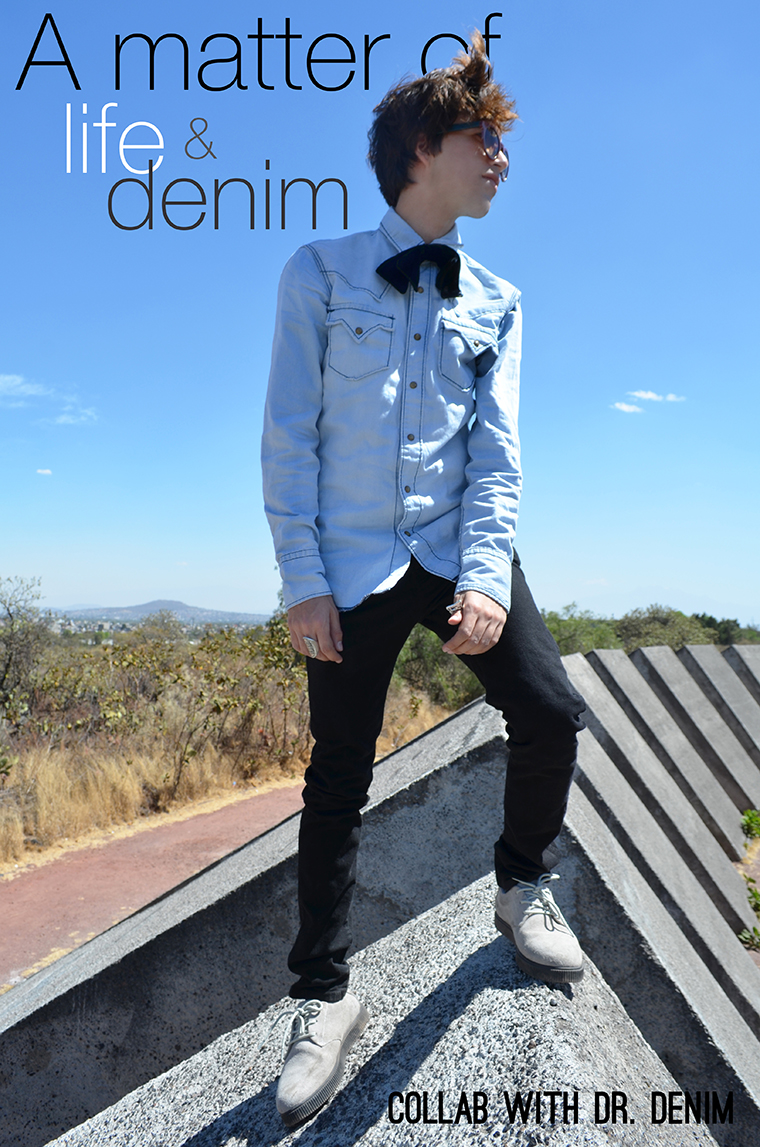 A matter of life and denim Dr Denim