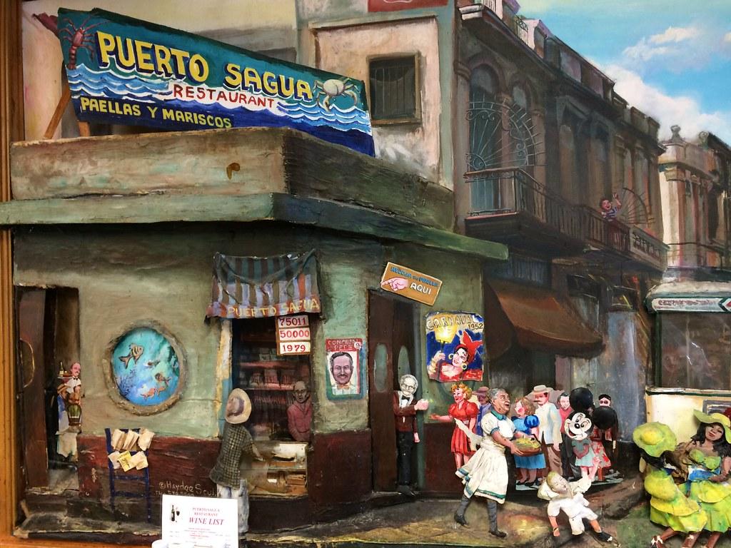 Puerto Sagua Restaurant Miami Beach FL Florida Retro Roadmap