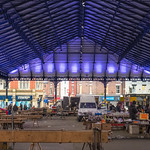 Outdoor market hall