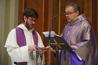 Admisión de cinco laicos en la fraternidad de El Olivar, Madrid