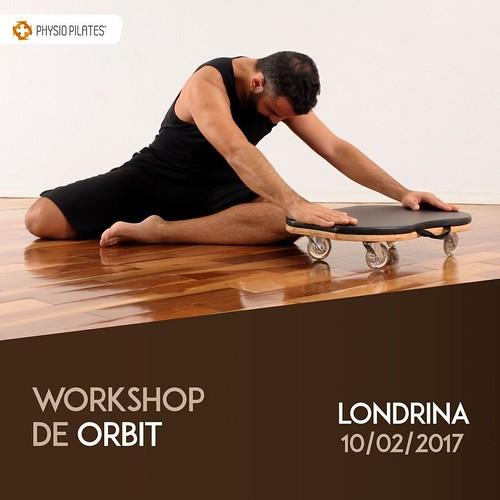 Inscreva-se no workshop de Orbit e acrescente conhecimentos na sua formação! Um treino divertido, de corpo inteiro, que fortalece, alonga e desafia em múltiplos planos! Faça já sua inscrição! Informações: (71) 3381.8000 / 0800 606 8008 / vendas@physiopila