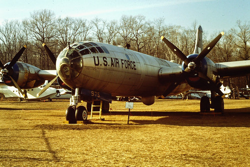 Boeing B-29A Superfortress at the New England Air Museum, 1989