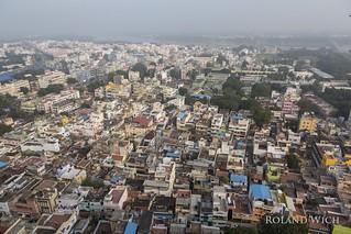 Tiruchirappalli - View from Ucchi Pillayar Temple