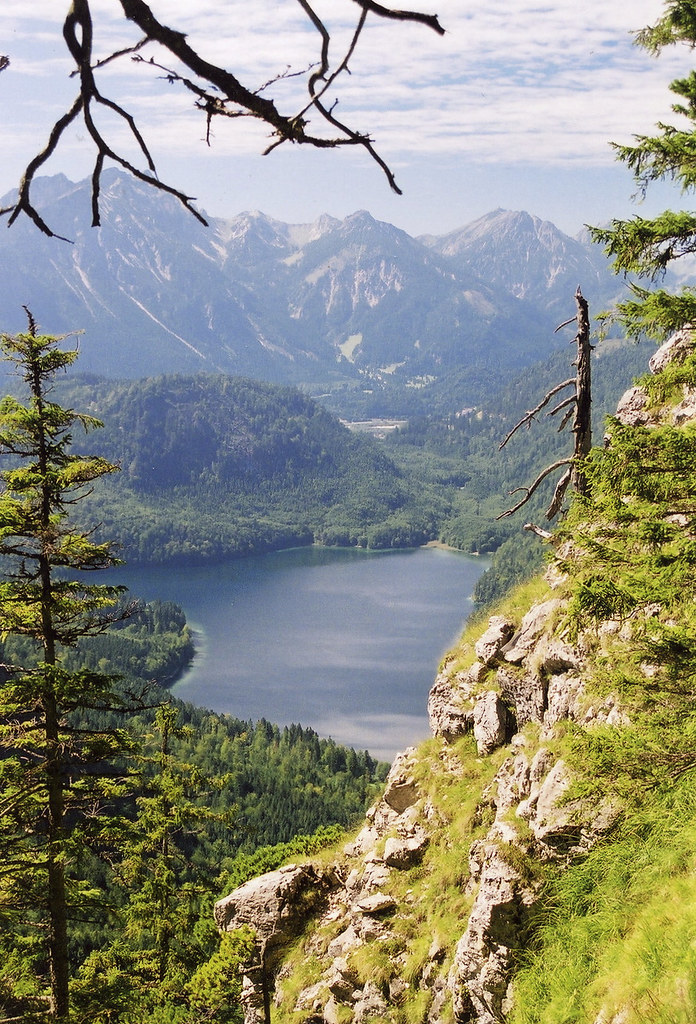 Alpsee, southern Germany