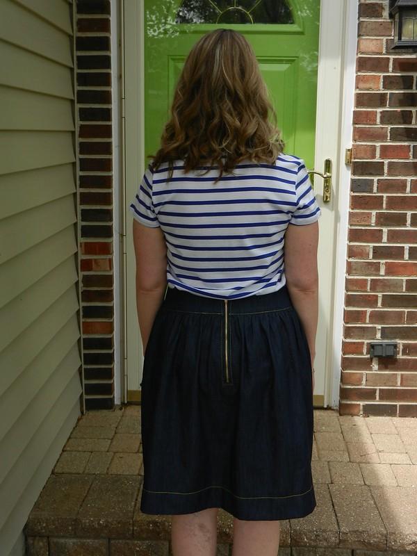 Brumby Skirt back