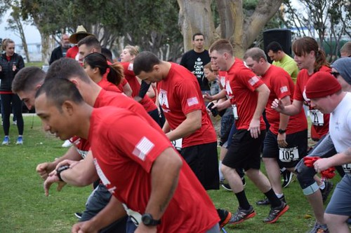 Chancellorsville Sailors Take Part in 'Headin' West' Run Prior to Joining FDNF