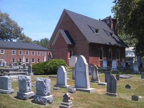 cemetery churches maryland somersetcounty princessanne us13 nationalregister nationalregisterofhistoricplaces makemie francismakemie manokinpresbyterianchurch