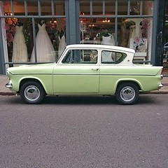 Ford Anglia  #vintage #car #crystalpalace #London #SE19