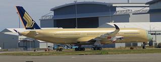 1ER A350-900 SINGAPORE AIRLINES MSN26 F-WZFU FUTUR 9V-SUA