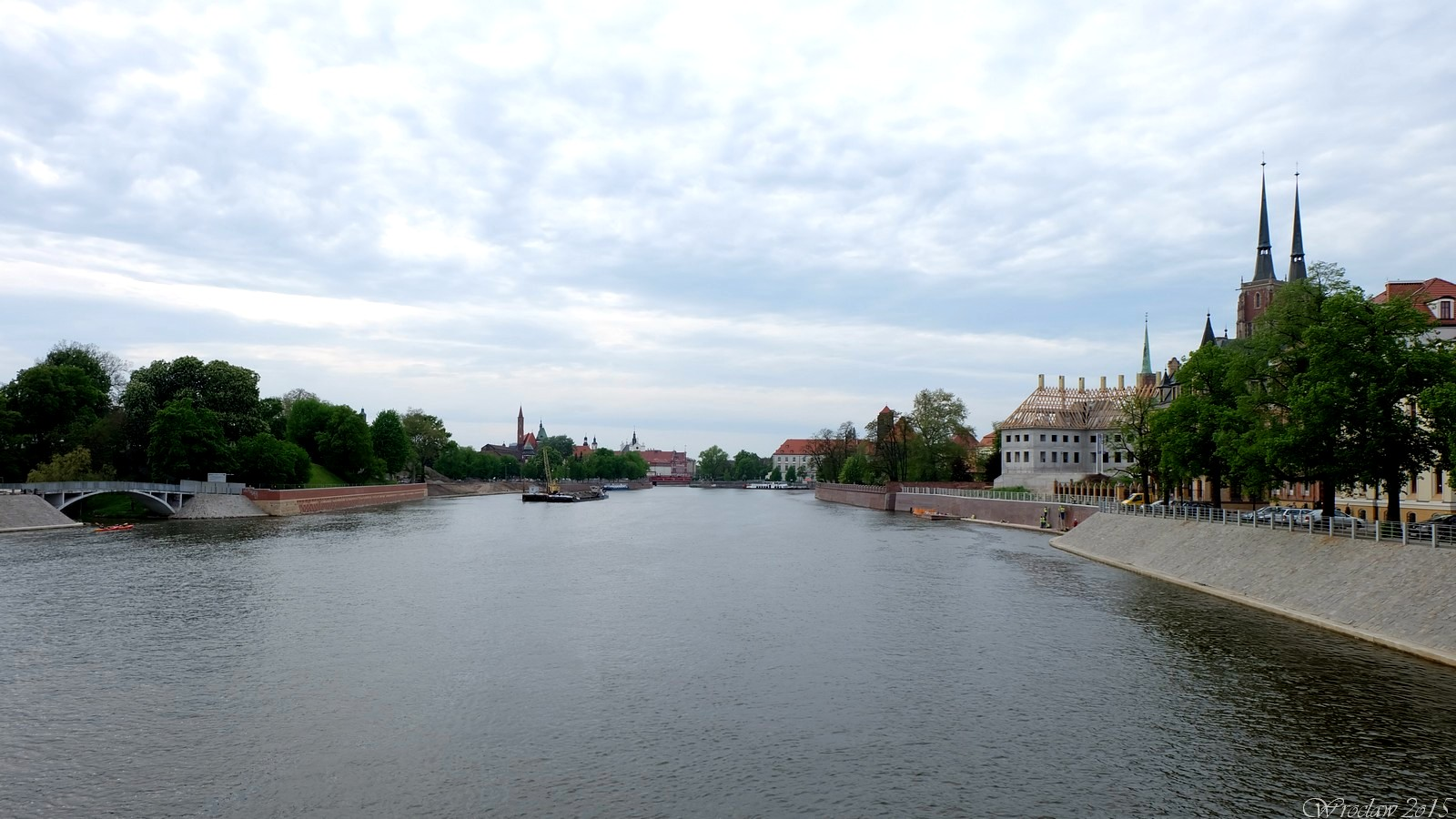 Odra, Wroclaw, Poland