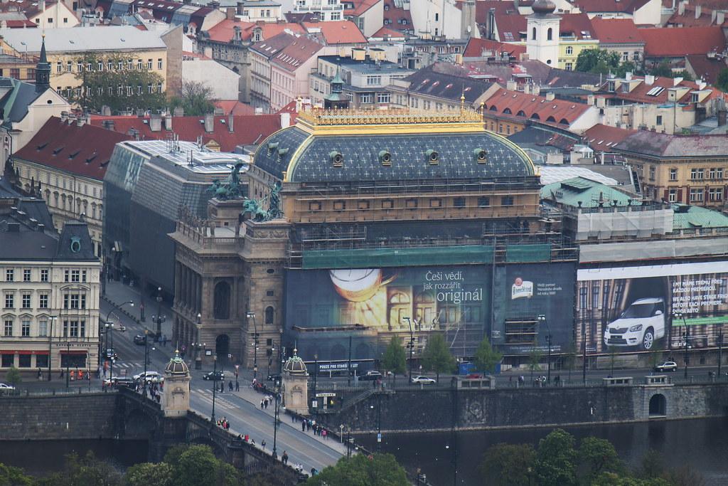 Národní divadlo, Prague