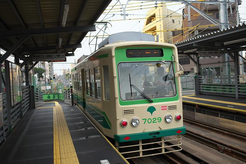 Tokyo Train Story 都電荒川線 2015年7月24日