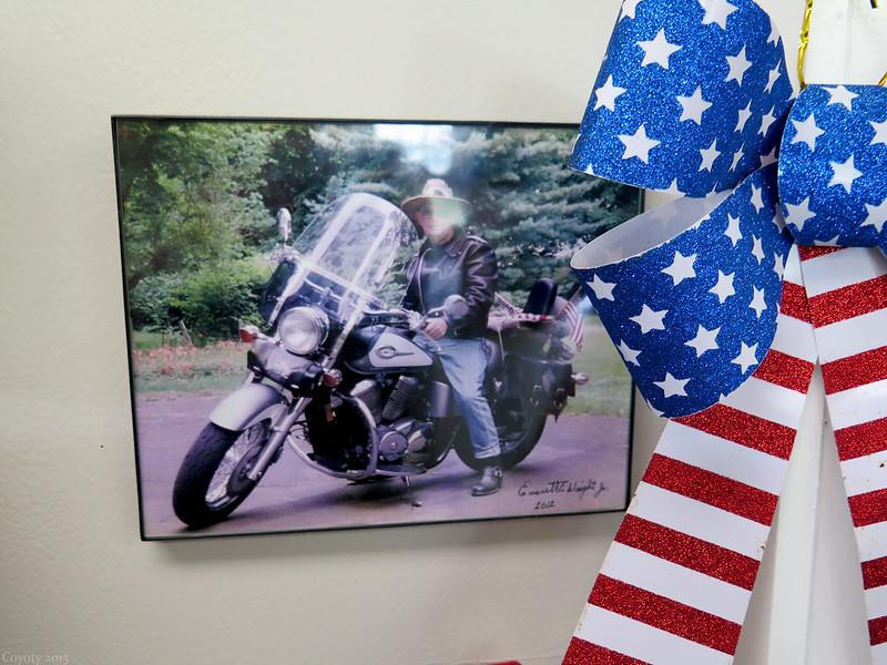 Dad's memorial photo