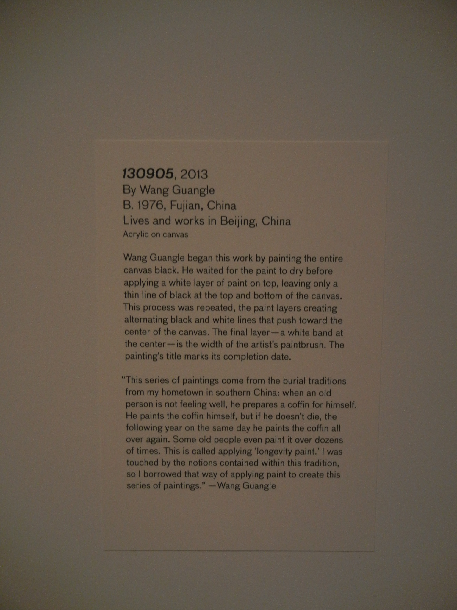 DSCN4638 _ 28 Chinese - 130905, 2013, Guangle Wang, Asian Art Museum