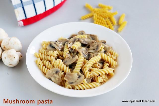 Pasta-in white sauce