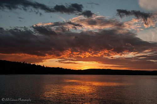 sunset water clouds us unitedstates connecticut connecticutriver deepriver billcannon billandkent