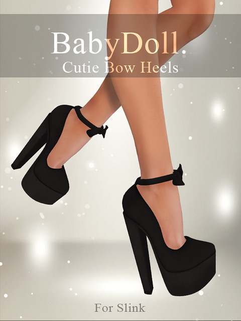 BabyDoll.Cutie Bow Heels