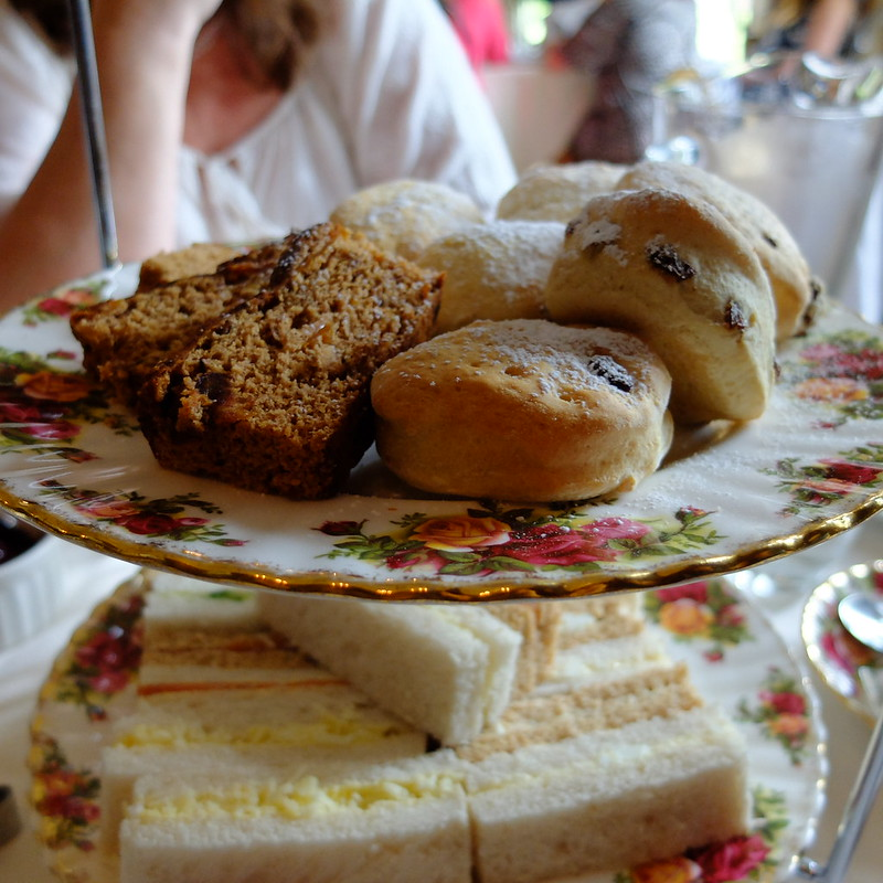 Miskin Manor afternoon tea