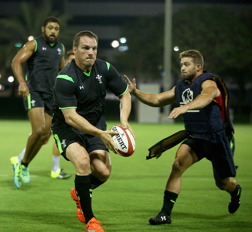 Qatar Rugby: Members Of The Wales Rugby Team Go