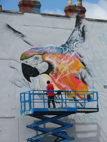 Parrot by L7m at Upfest