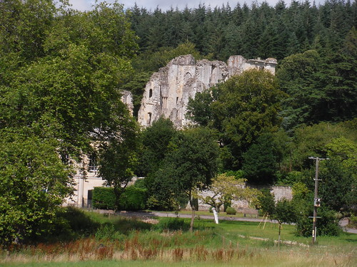 Old Wardour Castle Side View