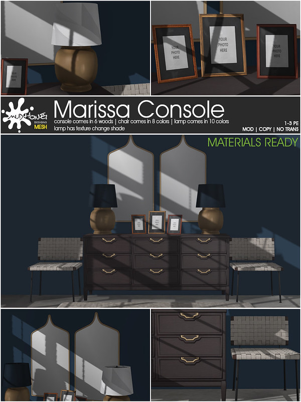 MudHoney Marissa Console