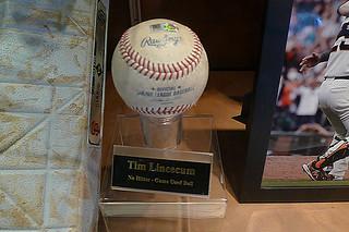 AT&T Park Tour - No hitter ball