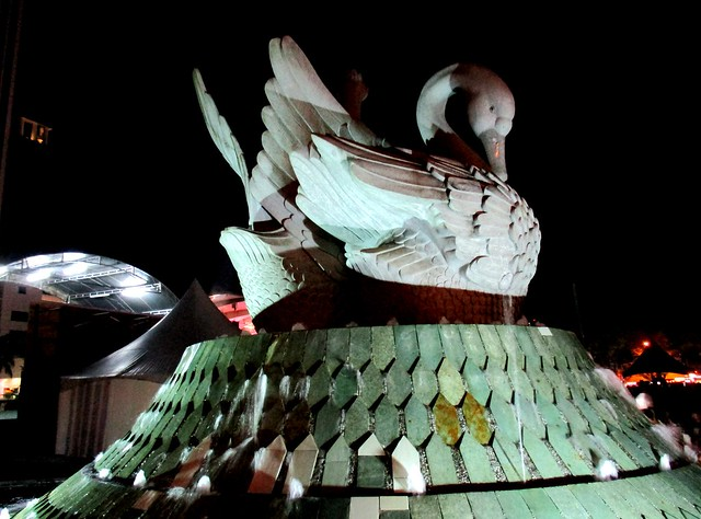 Swans, Sibu Town Square