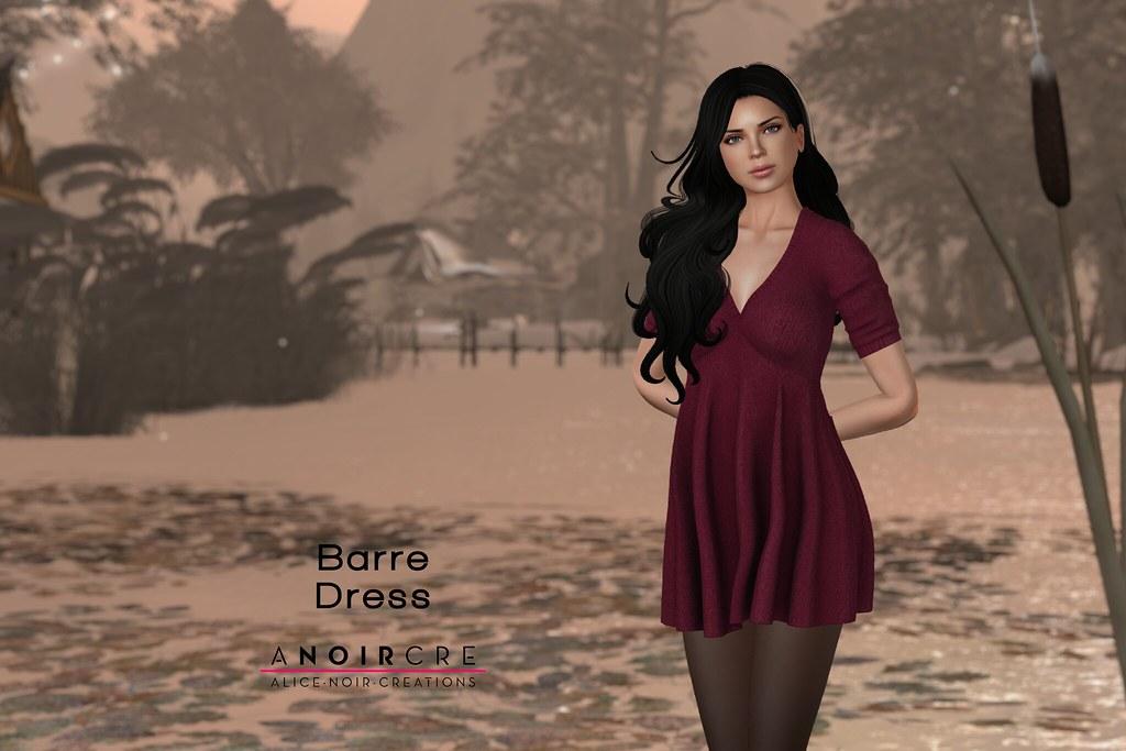 ANOIRCRE - Barre Dress - SecondLifeHub.com
