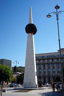 Memorial of Rebirth - Bucharest, Romania