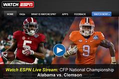 Alabama vs Clemson-2017-live-streaming