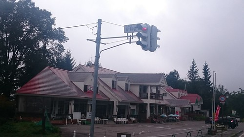 ここに来て縦型信号灯。心なしか気温が下がる?