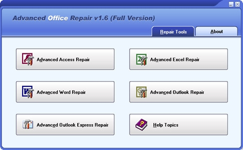 DataNumen Advanced Office Repair v1.6 Full