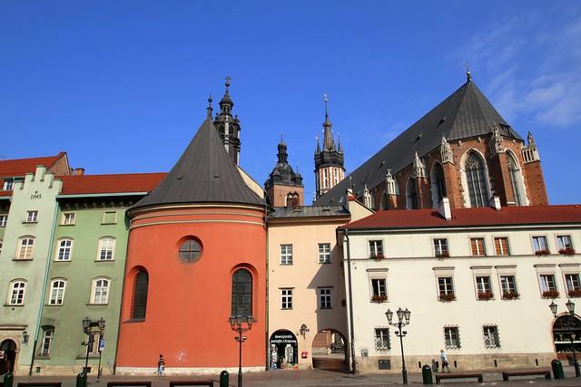 Maly Rynek in Krakow, Poland