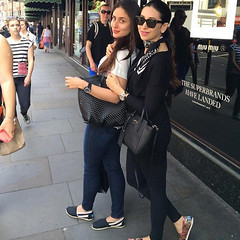 Karina and Karishma Hangouts Pictures