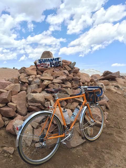 Rambler on Pikes Peak!