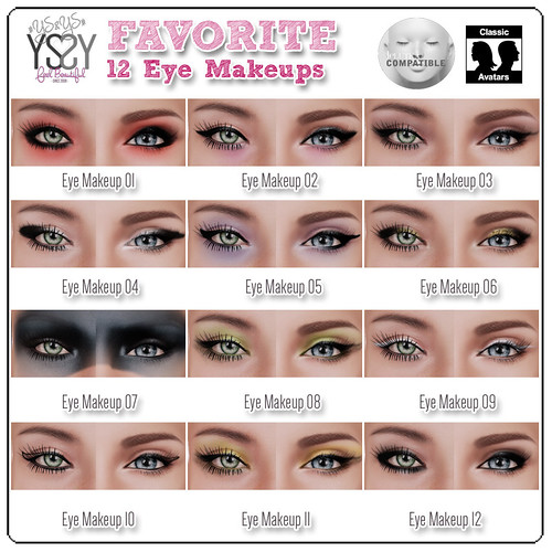 Favorite Makeup - Lelutka Aplier & Classics Avatar